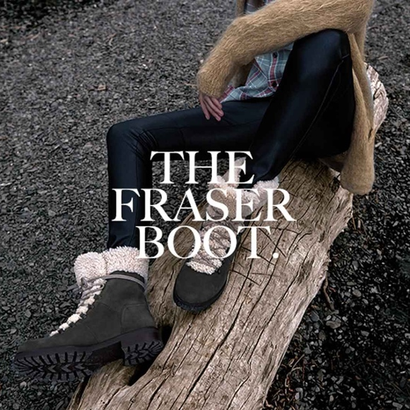 9acb51aab33 UGG 'Fraser' Stout Leather Hiking Combat Boots